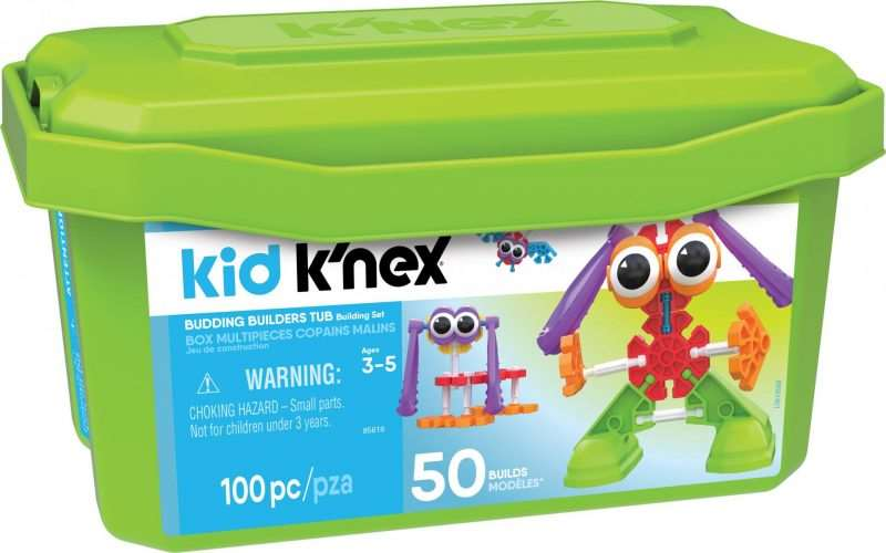 The Ultimate Christmas Gift Guide for the whole family, KID KNEX BUDDING BUILDERS TUB PACK SHOT 800x500%, product-review%