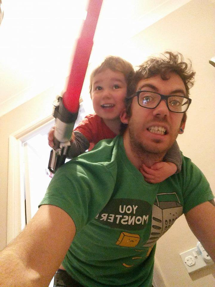 50 Honest selfies that sum up what it's like being a dad, 26166444 10156030008164438 3020242484124115090 n%, daily-dad%