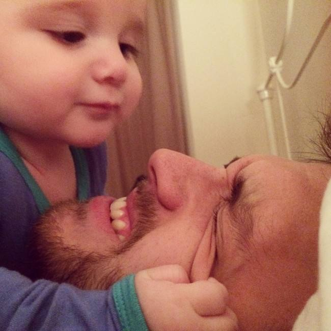 50 Honest selfies that sum up what it's like being a dad, IMG 6102 650x650%, daily-dad%