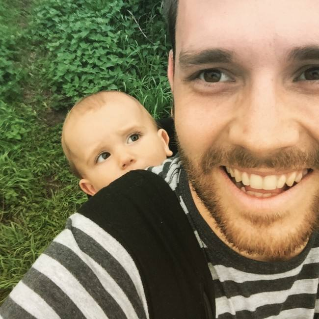50 Honest selfies that sum up what it's like being a dad, IMG 7569 650x650%, daily-dad%