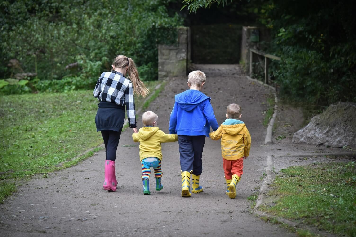 Nurturing the fathers of the future | Raising Boys, family walk%, daily-dad, new-dad%